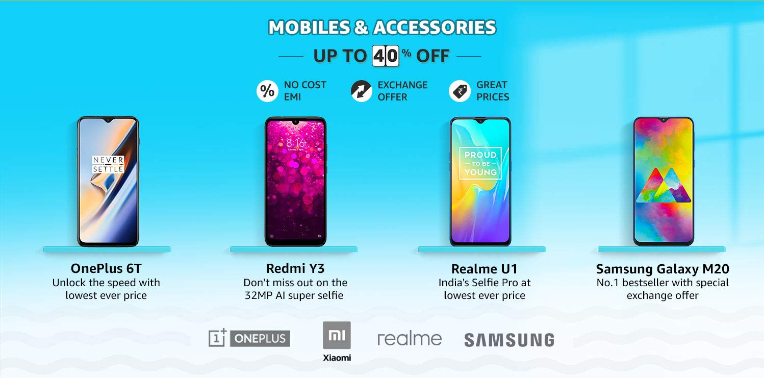 Amazon Summer Sale Mobile Offers